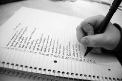 Writing organizations