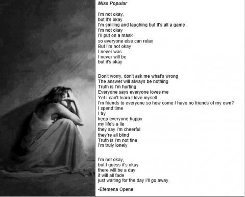 I M Not Okay But It S Okay Power Poetry